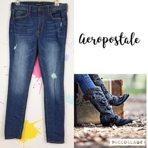 AEROPOSTALE High Waisted Jegging Jeans Women's 10